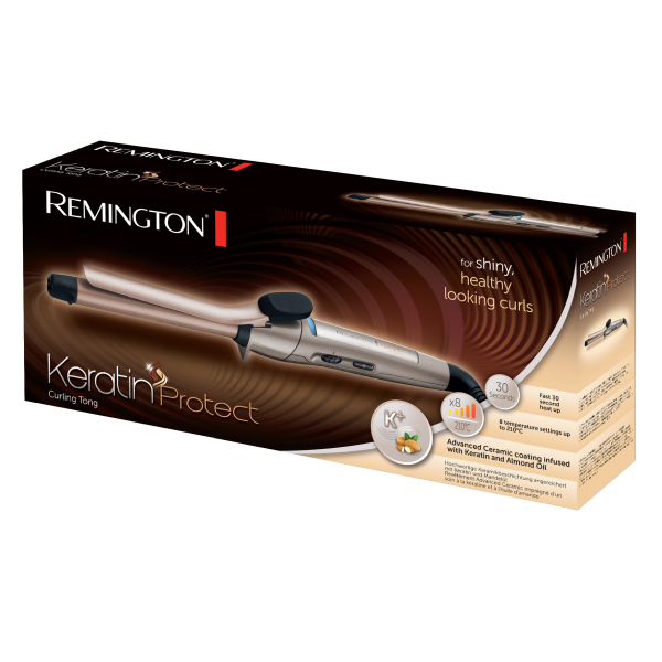 Kép 2/2 - Remington CI5318 Keratin Protect hajsütővas