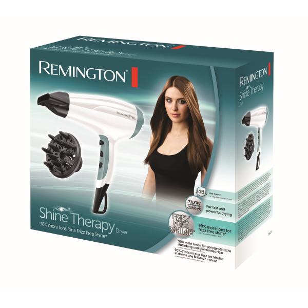Kép 2/2 - Remington D5216 Shine Therapy hajszárító, 2300 W