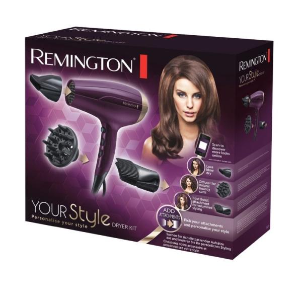 Kép 2/5 - Remington D5219 Your Style hajszárító készlet, 2300 W