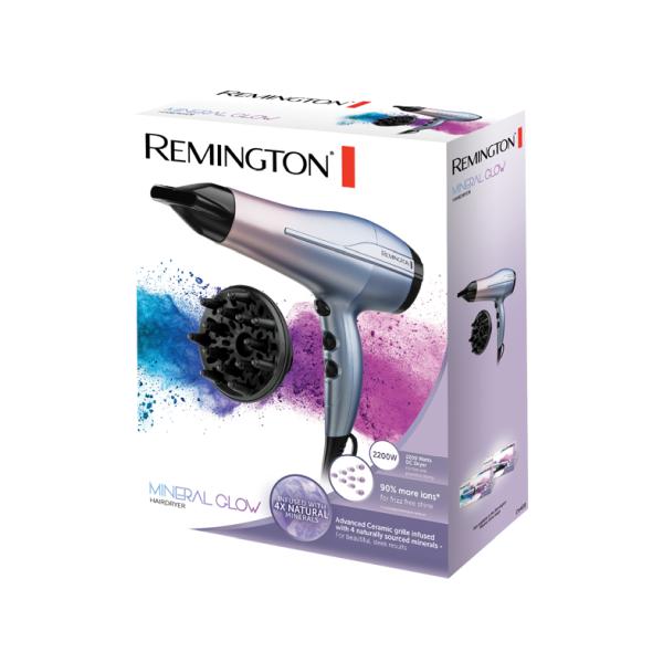Kép 2/3 - Remington D5408 Mineral Glow hajszárító, 2200W