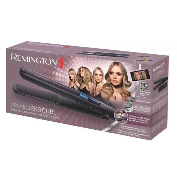 Kép 2/2 - Remington S6505 Pro Sleek & Curl hajsimító
