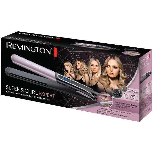 Kép 2/5 - Remington S6700 Sleek & Curl Expert hajsimító