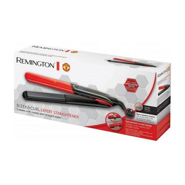 Kép 2/3 - Remington S6755 Sleek & Curl Expert hajsimító - Manchester United Edition