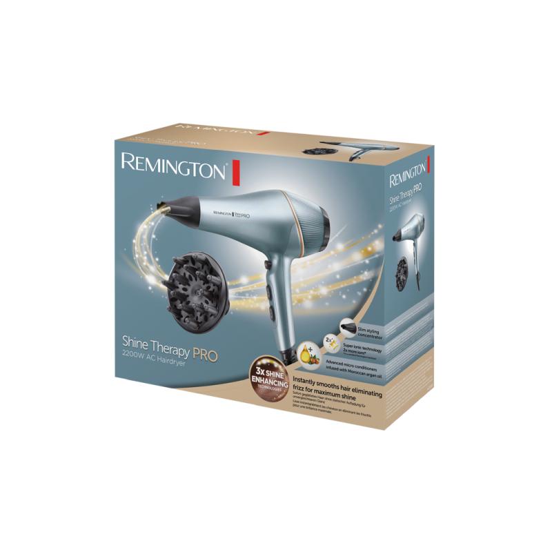 Remington AC9300 Shine Therapy Pro hajszárító, 2200 W