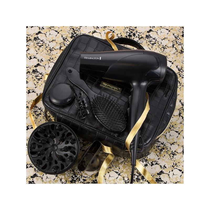 Remington D3195 GP Style Edition hajszárító ajándékcsomag, 2200 W